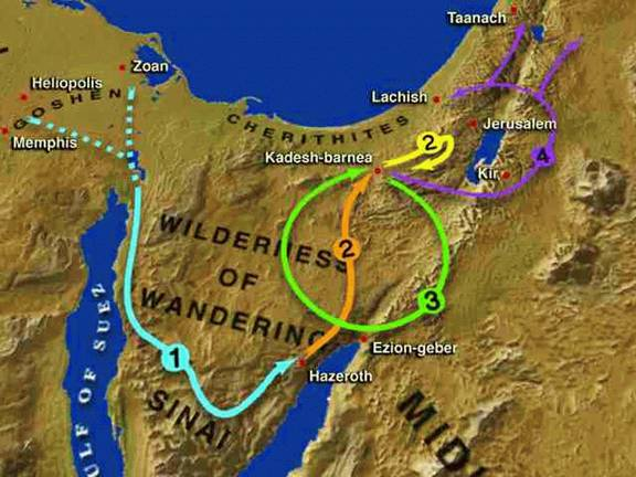 Todays Bible Maps For Bible Study - Map of egypt canaan